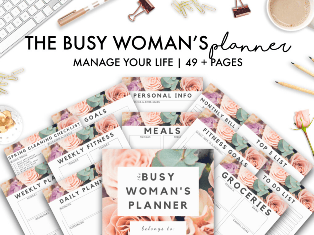 the busy woman's planner