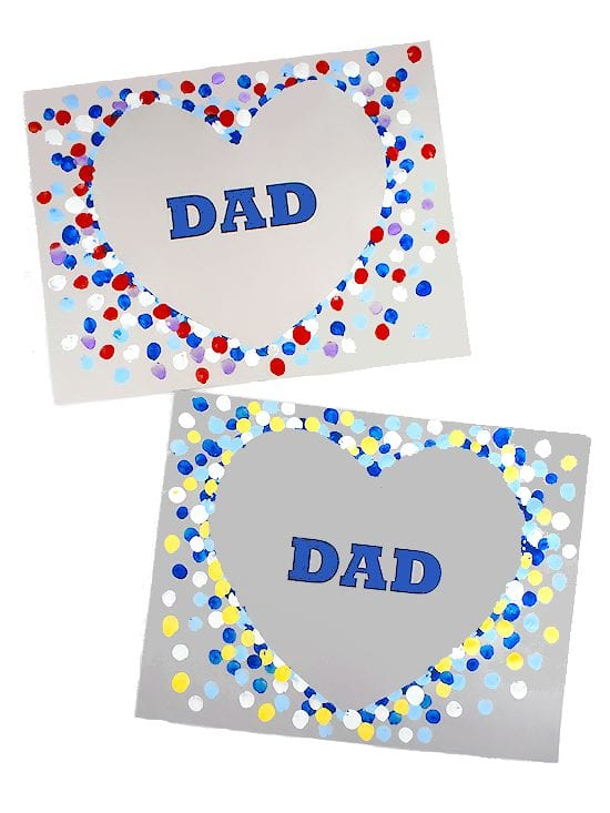 Heart Dad Father's Day Craft