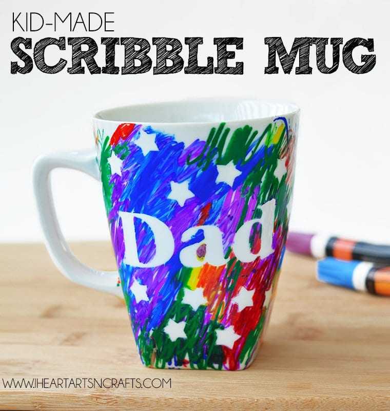 Scribble Mug Father's Day Craft