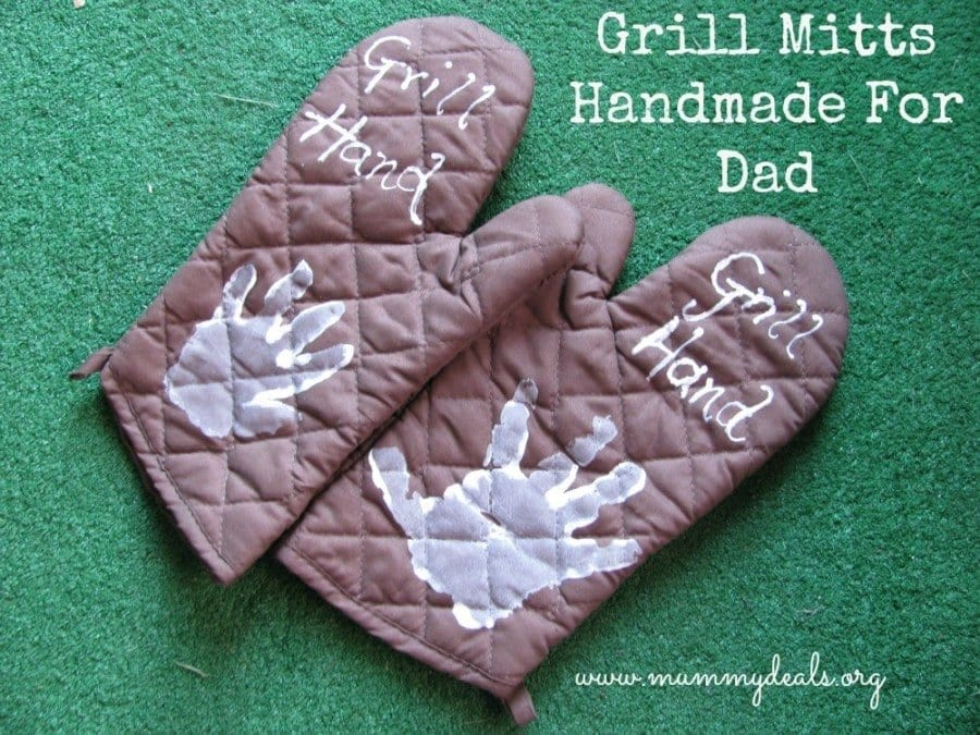 Grill Hand Father's Day Craft