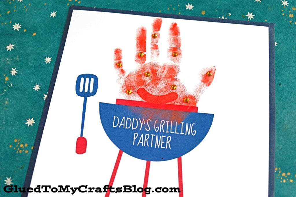 Daddy's Grilling Partner Father's Day Craft