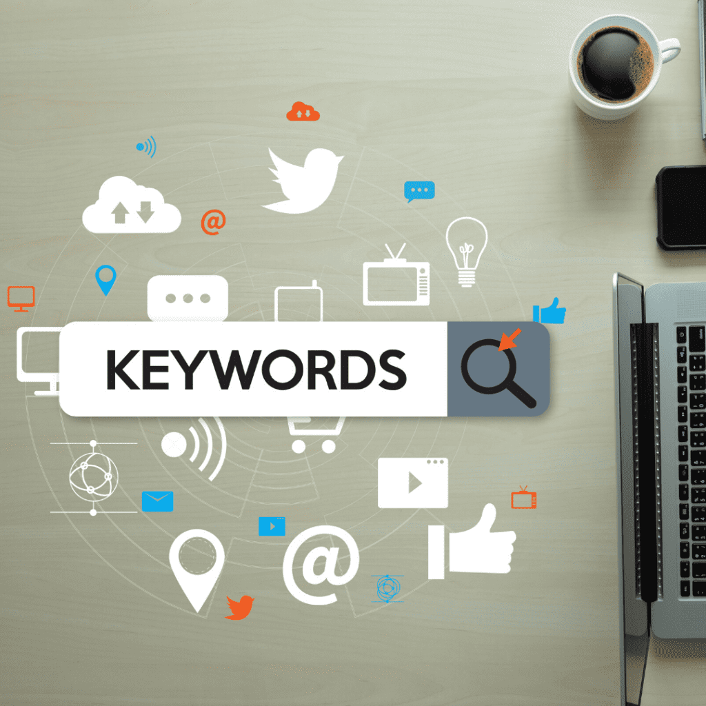 keywords in pinterest pins