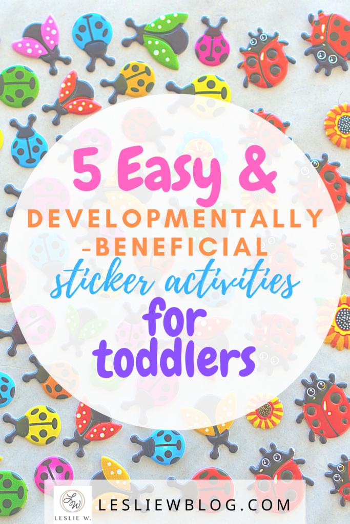 sticker activities for toddlers, dot sticker activities