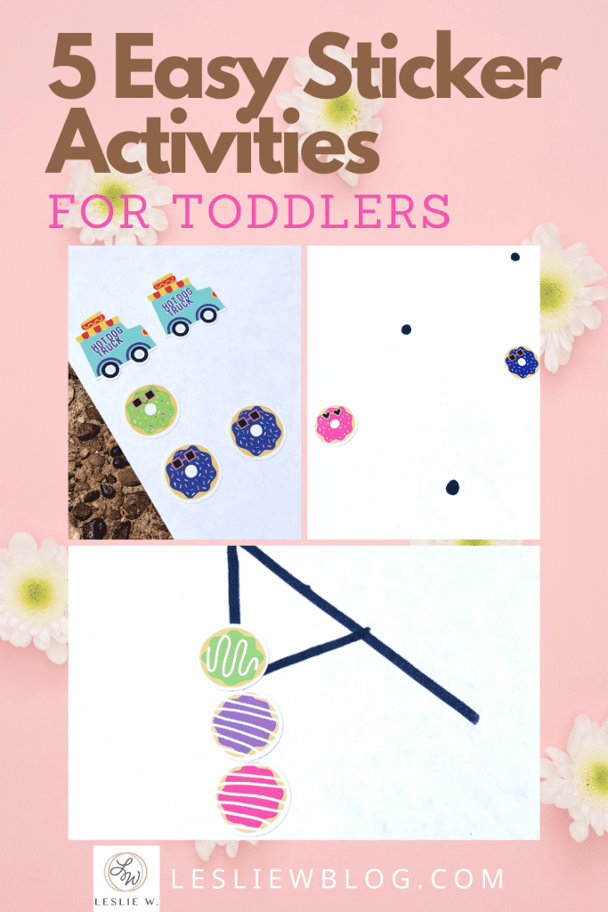 sticker activities for toddlers