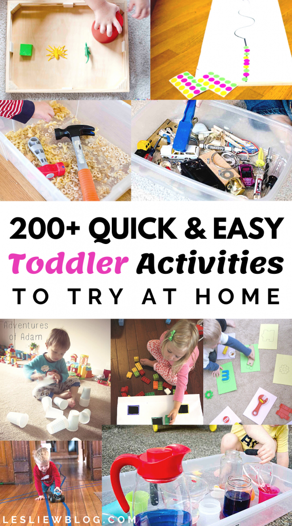 Toddler Activities to Try at Home